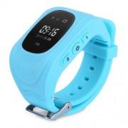 Q50 Παιδικό Smart Watch με Οθόνη, GPS Tracker SOS, Υποστηρίζει SIM κάρτα για IOS Android - Μπλε