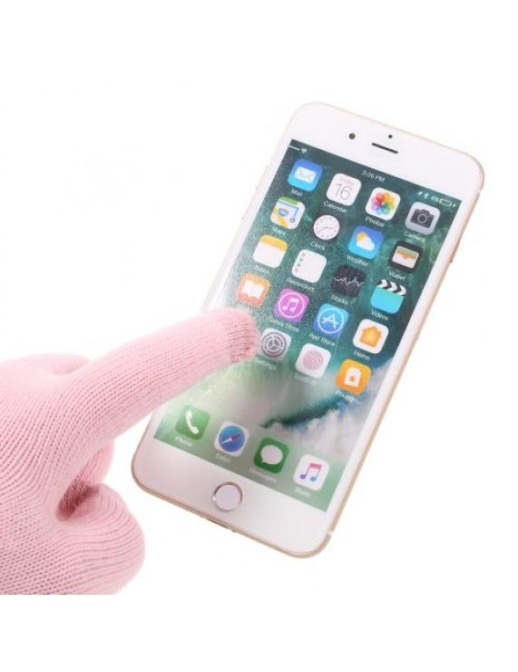 iGlove Γάντια με Δυνατότητα Αφής για να Κάνετε ότι Θέλετε με το Κινητό σας ενώ  τα Φοράτε - Ροζ (50008305) by stoucky.gr d93d505fa88