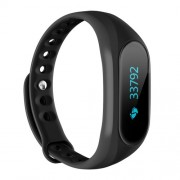 CUBOT V1 Αδιάβροχο Smart Watch Bluetooth με Μπρασελέ Σιλικόνης για Androit 4.3 ή Υψηλότερο και IOS 8.0 ή Υψηλότερο - Μαύρο