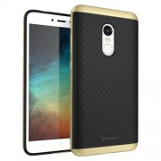 IPAKY Υβριδική Θήκη Συδυασμού Σιλικόνης TPU και Πλαστικού για Xiaomi Redmi Note 4X - Χρυσαφί
