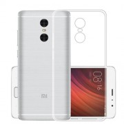 Anti-watermark Transparent TPU Mobile Phone Back Case for Xiaomi Redmi Note 4X