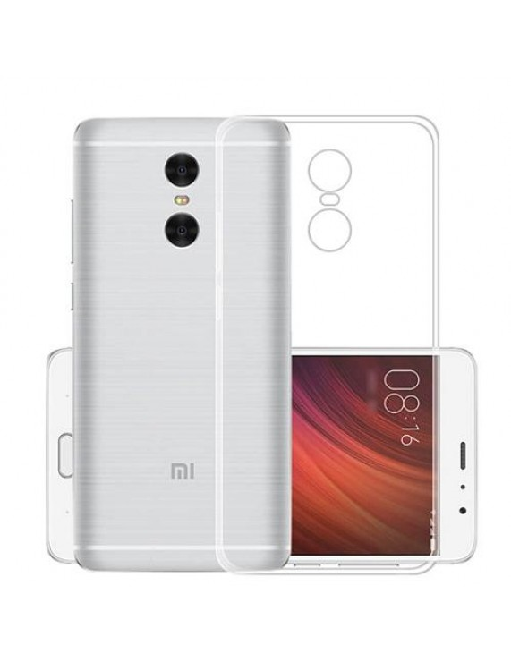 Anti-watermark Transparent TPU Mobile Phone Back Case for Xiaomi Redmi Note  4X (50009531) by stoucky gr
