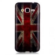 Θήκη Σιλικόνης TPU για Samsung Galaxy J3 / J3 (2016) - Αγγλική Σημαία