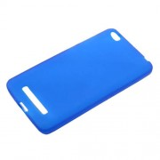 Matte TPU Anti-fingerprint Skin Case Cover for Xiaomi Redmi 4a - Blue
