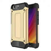 Armor Guard Plastic + TPU Hybrid Cover for Xiaomi Mi 5s - Gold