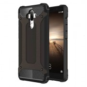 Armor Guard Plastic + TPU Hybrid Phone Case for Huawei Mate 9 - Black