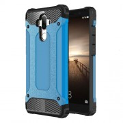 Armor Shell Plastic + TPU Cell Phone Cover for Huawei Mate 9 - Light Blue