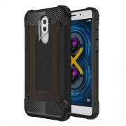 Tough Armor Υβριδική Θήκη Σιλικόνης TPU σε Συνδυαμό με Πλαστικό για Huawei Honor 6x (2017) - Μαύρο