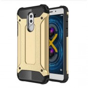 Armor Guard PC + TPU Combo Case Protector for Huawei Honor 6x (2017) - Gold
