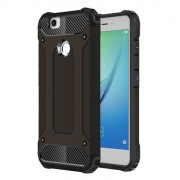 Armor Guard Hybrid Plastic + TPU Shell Case Cover for Huawei Nova - Black