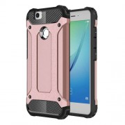 For Huawei Nova Armor Guard Plastic + TPU Hybrid Case Cover - Rose Gold