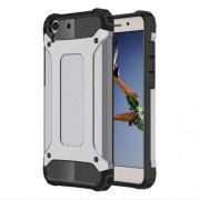 Armor Guard Plastic + TPU Combo Case for Huawei Y6 II/Y6II/Honor 5A - Grey