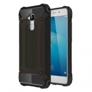 Armor PC TPU Air Cushion Phone Shell for Huawei Honor 5c/Honor 7 Lite/GT3 - Black