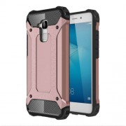 Armor PC TPU Air Cushion Phone Cover for Huawei Honor 5c/Honor 7 Lite/GT3 - Rose Gold