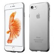 Θήκη Σιλικόνης TPU Πολύ Λεπτή Γυαλιστερή για iPhone 7 - Διάφανο