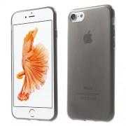 Θήκη Σιλικόνης TPU Πολύ Λεπτή Γυαλιστερή για iPhone 7 - Γκρι