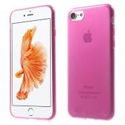 Θήκη Σιλικόνης TPU Πολύ Λεπτή Γυαλιστερή για iPhone 7 - Φούξια