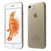 Θήκη Σιλικόνης TPU Πολύ Λεπτή Γυαλιστερή για iPhone 7 - Χρυσαφί