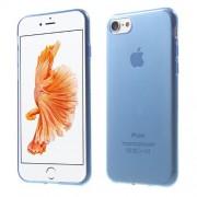 Θήκη Σιλικόνης TPU Πολύ Λεπτή Γυαλιστερή για iPhone 7 - Μπλε