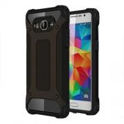Tough Armor Υβριδική Θήκη Σιλικόνης TPU σε Συνδυαμό με Πλαστικό για Samsung Galaxy Grand Prime SM-G530 - Μαύρο