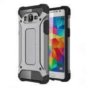 Armor Guard Plastic + TPU Hybrid Cover Case for Samsung Galaxy Grand Prime SM-G530 - Grey