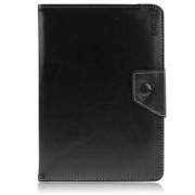 ENKAY ENK-7040 Universal Δερμάτινη Θήκη Βιβλίο με Βάση Στήριξης για Tablets 8 με 8,5 ίντσες, Διαστάσεις 20-23.5 x 12-15cm - Μαύρο