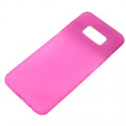 Matte Anti-fingerprint TPU Mobile Phone Case for Samsung Galaxy S8 - Pink