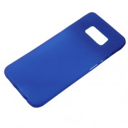 Θήκη Σιλικόνης TPU Ματ για Samsung Galaxy S8 - Μπλε