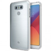 For LG G6 Drop-proof Clear Soft TPU Case Mobile Phone Cover