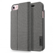 LAUT Apex Knit Book Case with Stand for iPhone 7 / 6 / 6s - Granite