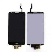 Γνήσια Οθόνη LCD + Digitizer Οθόνη Αφής για LG G2 - Μαύρο