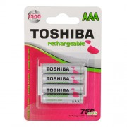 Toshiba Battery Rechargeable AAA BP4 750mAh (4 pieces)