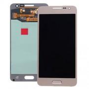 Γνήσια Samsung Οθόνη LCD και Μηχανισμός Αφής για Samsung Galaxy A3 SM-A300F - Χρυσαφί (GH97-16747F)