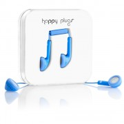 Happy Plugs Handsfree 3.5mm Blue (7729)