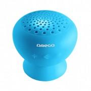 Omega Αδιάβροχο Bluetooth Ηχείο - Μπλε (OG46BL)