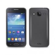 Puro Θήκη Σιλικόνης για Samsun Galaxy Core 2 - Μαύρο (SAMSUNGG355HSBLK)