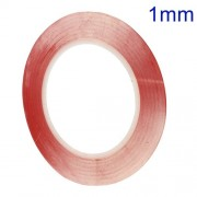 1mm x 33m High Temperature Resistant Double-sided Clear Adhesive Tape