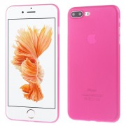 Ultra Thin 0,3mm Matte PC Hard Back Case for iPhone 7 Plus 5,5 inch - Rose