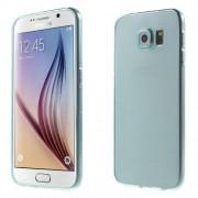 Λεπτή Θήκη Σιλικόνης TPU 0.6mm για Samsung Samsung Galaxy S6 G920 - Γαλάζιο