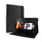 Puro Universal Δερμάτινη Θήκη με Βάση Στήριξης για Tablet μέχρι 8.9'' - Μαύρο (UNIBOOK89BLK)