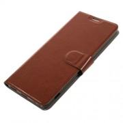 Δερμάτινη Θήκη Πορτοφόλι με Βάση Στήριξης για Sony Xperia XA Ultra - Καφέ