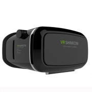 VR SHINECON Γυαλιά 3D που Φοριούνται στο Κεφάλι με Bluetooth Remote Shutter - Μαύρο