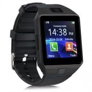 DZ09 Smart Watch με Υποδοχή Κάρτας Sim και Οθόνη Αφής 1.56 ίντσες και Κάμερα - Μαύρο