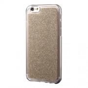 Θήκη Σιλικόνης TPU με Γκλίτερ για iPhone 6s Plus / 6 Plus - Χρυσαφί