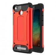 Guard Plastic + TPU Armor Combo Case for Xiaomi Redmi 3S / 3X - Red
