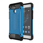 Armor Guard 2-in-1 PC TPU Hybrid Case for Huawei P9 - Baby Blue