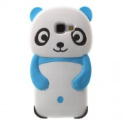 3D Panda Silicone Phone Case for Samsung Galaxy A5 SM-A510F (2016) - Blue