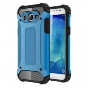 Armor Guard Plastic + TPU Combo Case for Samsung Galaxy J5 SM-J500F - Baby Blue