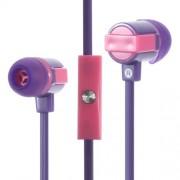 Στερεοφωνικά Ακουστικά με Μικρόφωνο για όλα τα Smartphones - Μωβ