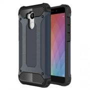 Armor Guard Plastic + TPU Combo Case for Xiaomi Redmi 4 Prime / 4 Pro - Dark Blue